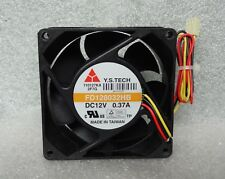 Y.S. Tech 80mm x 32mm High Airflow Server Fan 47 CFM 3 Pin Dual Ball FD128032HB