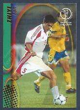 PANINI WORLD CUP 2002- #042-CHINA & DUNDEE-FAN ZHIYI