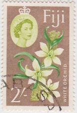 Stamp (F69)Fiji 1963 2/- Multicolour SG319