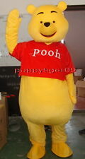 Professionale Winnie The Pooh Bear Orso Adulto Costume Della Mascotte Halloween