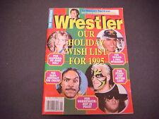 The Wrestler Magazine Jan 1995 Sting Sabu Alundra Undertaker Top 10 List M2034