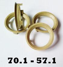4 X 70,1 - 57,1 ALLOY WHEEL Spigot Ring Hub Centric Rings VW AUDI MERCEDES SKODA