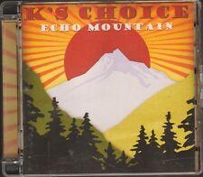 K'S ks CHOICE Echo Mountain  NEW 2 CD 14 track  LYRICS 20 page  SARAH BETTENS