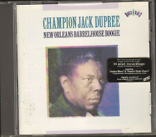 NEW CD 25 track CHAMPION JACK DUPREE New Orleans Barrelhouse Boogie COLUMBIA '93