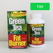 Green Tea Fat Burner Dietary Supplement - 200 Softgels (NEW Inventory!!!)