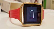 Fitbit Blaze Gold Series  Pink Band-FB502GPKS-Size S