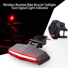 Wireless Remote Bicycle Bike Turn Signal Light Rear Tail LED Indicator Waterprof