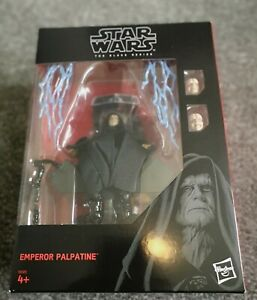 Star Wars Black Series - Emperor Palpatine with Throne (Mint in Box & Unopened)