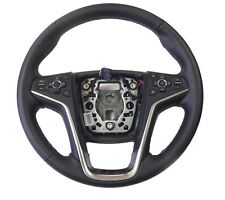 Leather Steering Wheel Black Ebony w/Collision Remote Sensor 2014 Buick LaCrosse