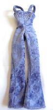 Barbie doll Clothing item Blue Velour Suit Pantsuit Pants