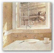 MUSEUM ART PRINT Ground Hog Day Andrew Wyeth 18 x17.63