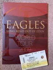 More details for 2009~the eagles~long road out of eden~concert tour programme + ticket