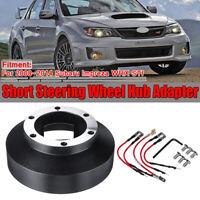 Short Steering Wheel Hub Adapter Kit For Subaru Impreza WRX STI 2008-2014