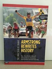 ARMSTRONG REWRITES HISTORY / LANCE ARMSTRONG 2004 TOUR DE FRANCE CYCLING RARE