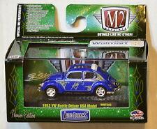 M2 MACHINES AUTO-DREAMS 1953 VW BEETLE DELUXE USA MODEL WALMART