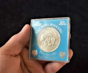 Vintage The ROYAL WEDDING JULY 29th 1981 Barclays Bank Commemorative Coin