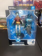 MCFARLANE TOYS ROBIN CROW EARTH-22 ACTION FIG. DC MULTIVERSE SCREAMING VARIANT