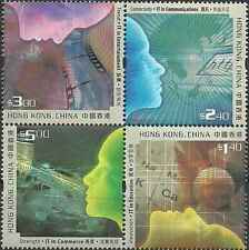 Timbres Hong Kong Chine 1005/8 ** année 2002 lot 13330
