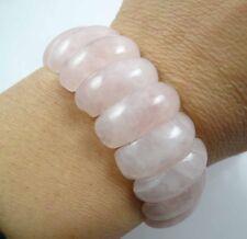 Beautiful Gemstone Rose Quartz  Handmade Gemstone Jewellery bracelet