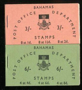 Bahamas QEII 1965 booklets 3/- & 6/- SG.SB4/5 MNH