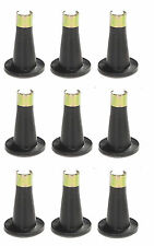 "1 Piece Bed Frame 3 5/8"" Tall/High Replacement Glide/Feet - Set of 9 Glides"