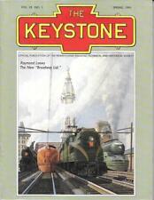 The Keystone PRR Spr 1991 Broadway Limited Streamliner Raymond Loewy Railroad