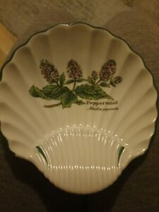 Royal Worcester 'Worcester Herbs' Dish, Peppermint,