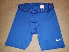 Nike Dri-Fit Compression Shorts Base Layer Mens Extra Large XL Blue