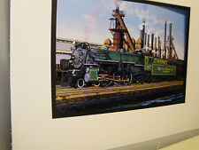 Southern Railway Crescent Limited In Birmingham Artist Railroad Archives bt