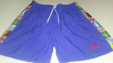 Vintage 90s Mitre World Cup Flag Nylon Soccer Shorts Adult Size Xl Blue