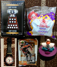NHL/McD's: Art Ross Trophy, Mighty Ducks Toys, UD Cards + Olympic Watch & Decals