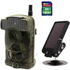 8GB+Ltl Acorn Ltl-6310WMG MMS 100° GPRS Trail Game Hunting Camera+Solar Panel