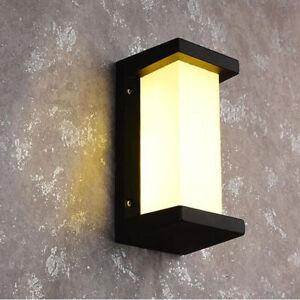 Modern  IP65  LED Wall Lights Indoor / Outdoor Garden  Down Wall Lamp 18W