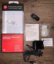 Motorola Hx550 Productivity Series Universal Bluetooth Wireless Headset - Parts