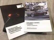 BMW 5 SERIES TOURING  HANDBOOK PACK OWNERS MANUAL 2014-2017 INC I drive