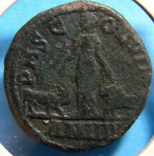 Gordian III Viminacium Sestertius Bull Lion Legion Ancient Roman Coin (0453)