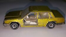 Rare Vintage SIKU VOLVO 760 GLE - #1065 Made in West Germany Gold no doors Car
