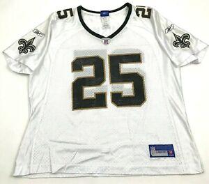 Reebok Reggie Bush New Orleans Saints Football Jersey Youth Size Extra Large Boy