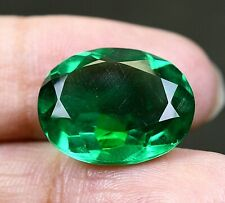 VVS 9.40 CT Colombian Natural Green Emerald CERTIFIED Loose Gemstone OA942