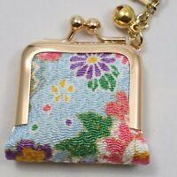 Earrings Case Cute Kawaii Chirimen Crepe Gamaguchi Frog Mouth Kyoto Japan H