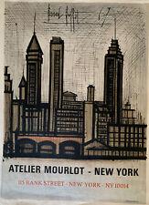 Original Bernard Buffet Atelier Mourlot New York Poster -1967