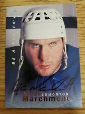 1995-96 Be A Player Autographs #S39 Bryan Marchment