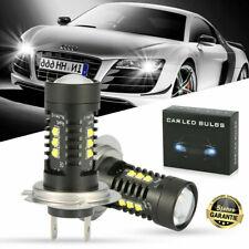 2x H7 LED Scheinwerfer 968W Birnen Tagfahrlicht Lampen Leuchte 6500K Weiß COB
