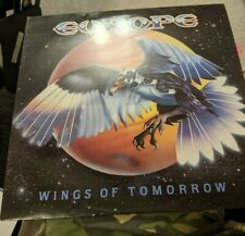 New listing RARE EUROPE VINYL LP WINGS OF TOMORROW EPIC 460213 1 1984 2 INSERTS!! MINT/MINT