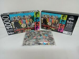 The Beatles Sgt Peppers's Lonely Hearts Club Band 1000 Piece Jigsaw Puzzle