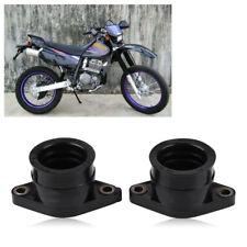 2X Carburetor Intake Manifold Boots For Yamaha TT350 86-87 XT350 42U-13596-01-00