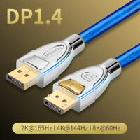 DP 1.4 Video Cable 8K@60Hz 4K 120Hz DSC HDR DisplayPort Male Monitor Video Cable