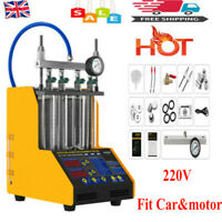 Fuel Injector Cleaner Ultrasonic Fuel Injector Tester For Petrol Car/Motor 220V