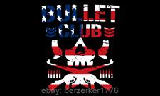 Bullet Club USA Wrestling 3'x5' black flag NJPW WCW ROH WWE USA Seller shipper