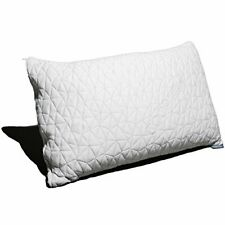 NEW Shredded Memory Foam Pillow with Bamboo Cover  Made in the USA KING